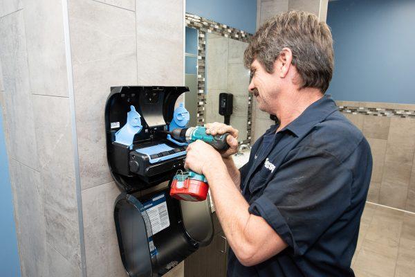MASSCO - Sanitizer Dispenser Installation