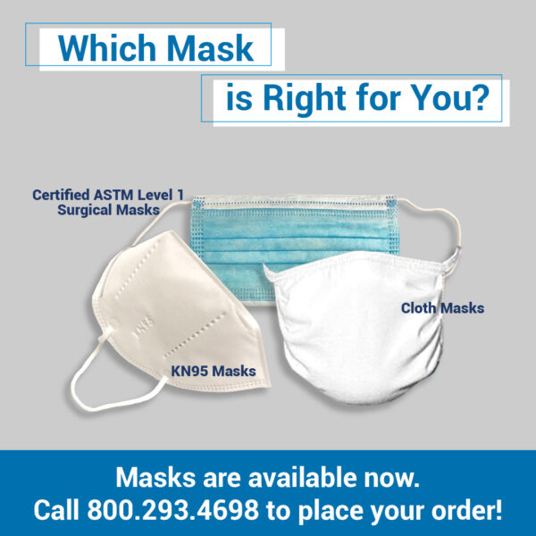 Masks Available Now